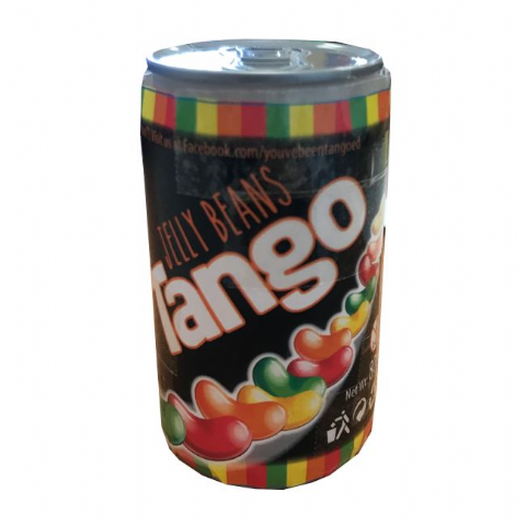 Tango Jelly Beans Drink Can Novelty Sweets Rose Marketing 80g